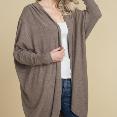 Hacci Brush Cardigan