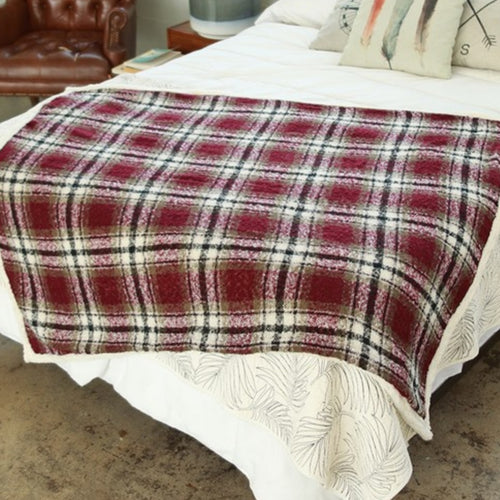 Luxury Plaid Blanket