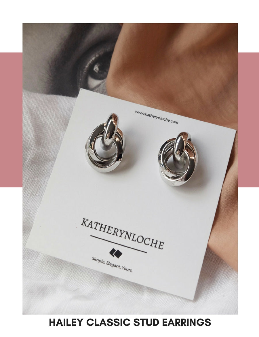 Hailey Stud Earrings | Katherynloche Jewellery