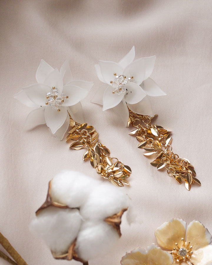 Floria Flower Earrings