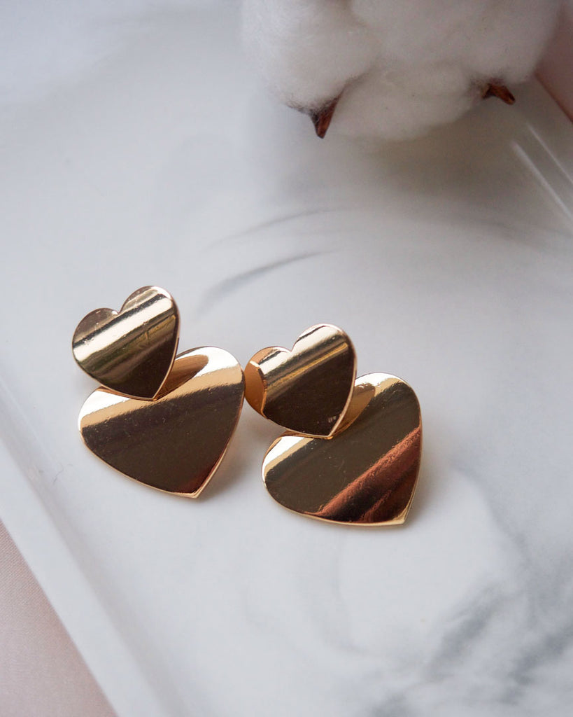 Love me Mini Heart Earrings