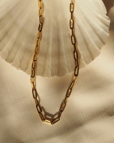 18k gold plated - Bamhi Link Chain Necklace