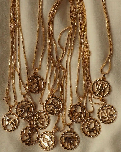 18K Gold plated  - Zodiac Chain Necklace (Limited stock)