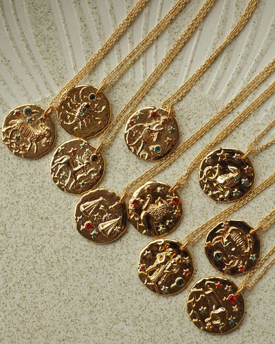 18K Gold Plated - Trésor Zodiac Gold Necklace