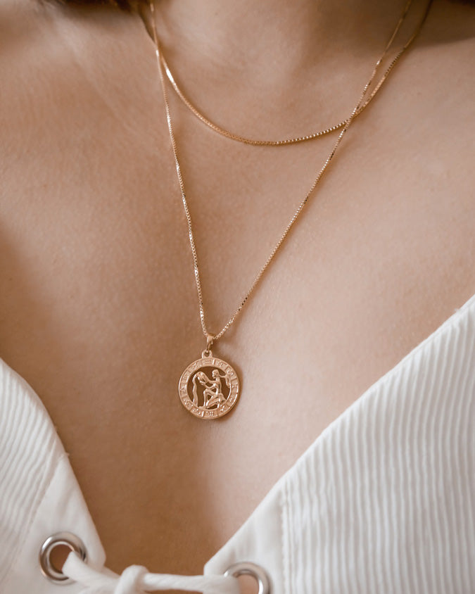 DEVINE - ZODIAC NECKLACE (Made to order)