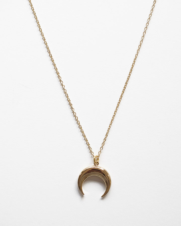 CRESCENT Moon Chain Necklace