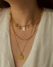 18k gold plated - The Mini Choker Nameplate Personalised Necklace (Made to Order)