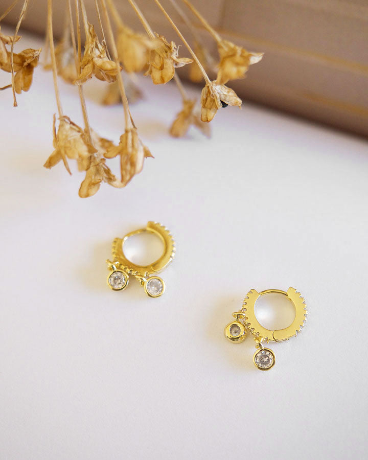 INFINITY - Enchanté Mini Hoop Earrings