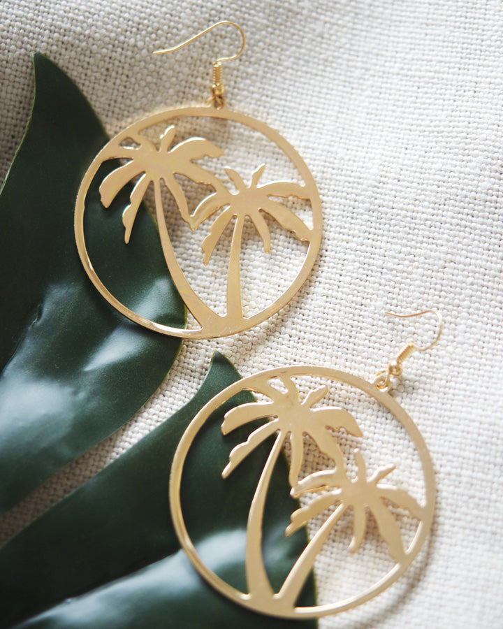 Azalea PALM TREE EARRINGS
