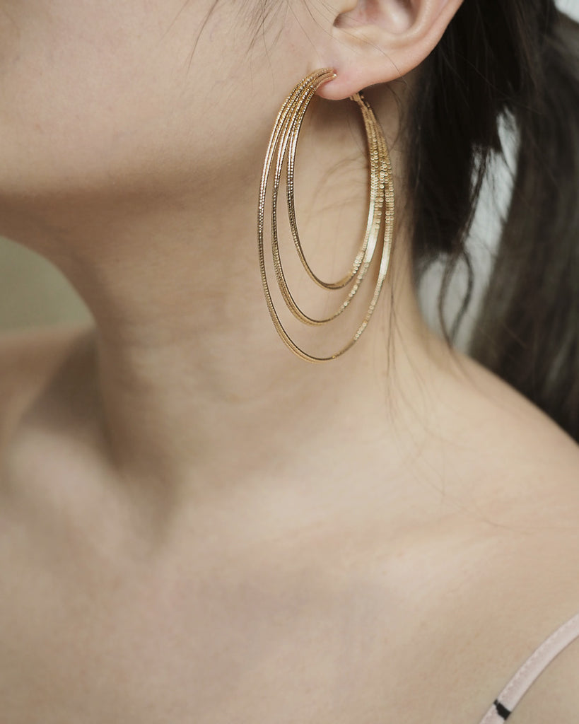 ABELLA Hoop earrings