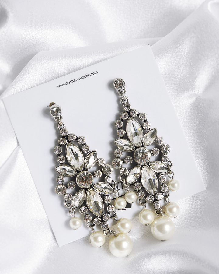 BLAINE  PEARL Drop Earrings