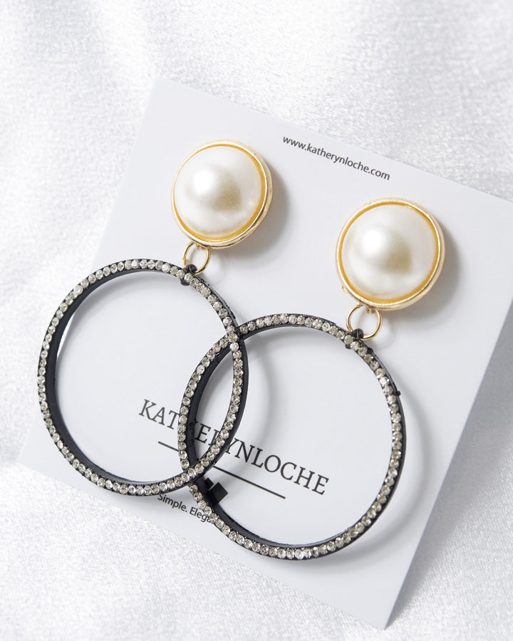 KELBY Pearl Stud Earrings