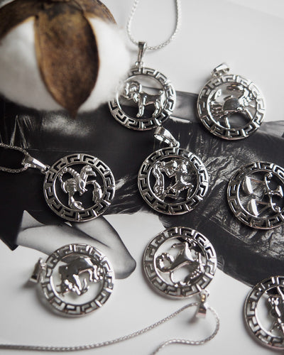 Devine - Zodiac Silver Necklace (Limited Stock)