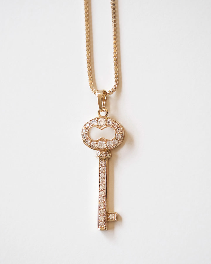 DEVINE - CLÉ KEY NECKLACE