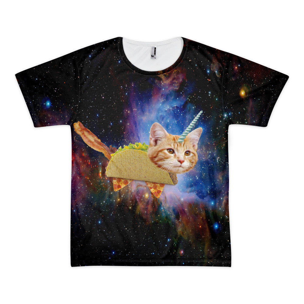 Crazy Galaxy Taco Space Cat Supreme T Shirt – Just Space Cats