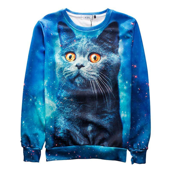 Andy the space cat sweatshirt