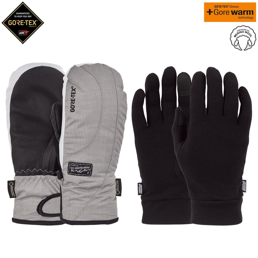 W'S CRESCENT GTX SHORT MITT + WARM