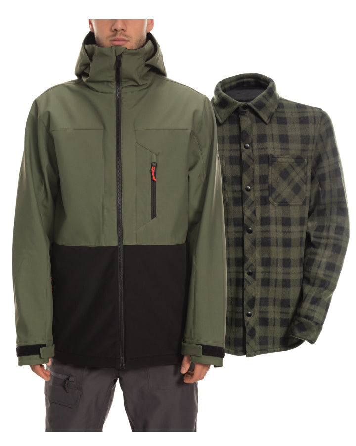 Men's SMARTY® 3-in-1 Phase Softshell Jacket
