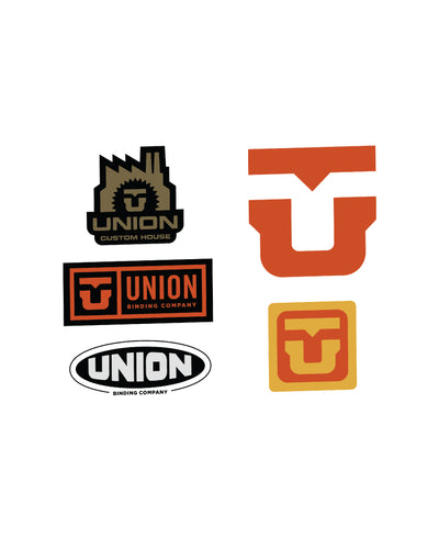 UNION ASST. STICKERS (25 PCS) ASST.