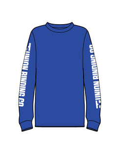 UBC LONG SLEEVE ROYAL BLUE