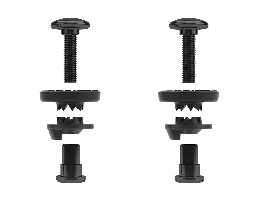 HIGHBACK HEELCUP SCREW - LOCKING WASHER (pair)