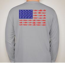 American Fish Flag - Performance Long Sleeve