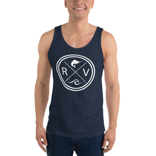 Mens RV Crest Tank Top