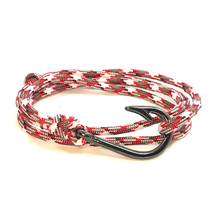 The Rocket Camo - Fishhook & Anchor Bracelet