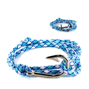 The High Tide - Fishhook & Anchor Bracelet