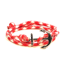 The Watermelon - Fishhook & Anchor Bracelet