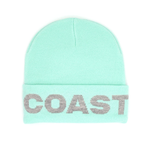 Large Text Beanie Mint