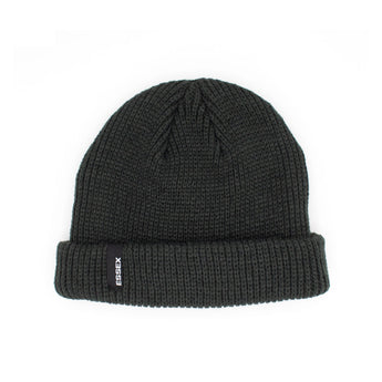 Ribbed Beanie Dark Grey