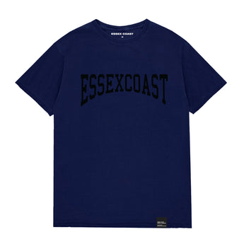 Varsity T Shirt Navy & Black