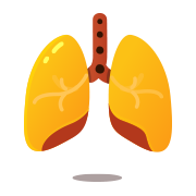 Resting Respiration Icon