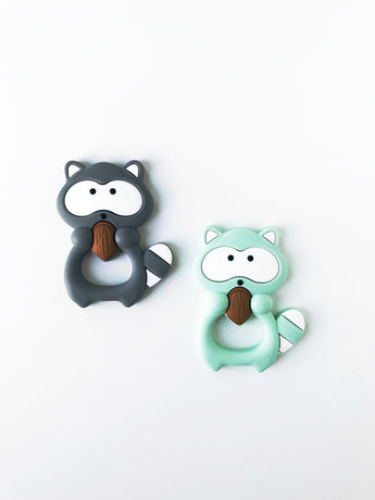 Racoon Teether - Libby Baby Boutique