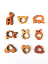 Wooden Teether Add-On - Libby Baby Boutique
