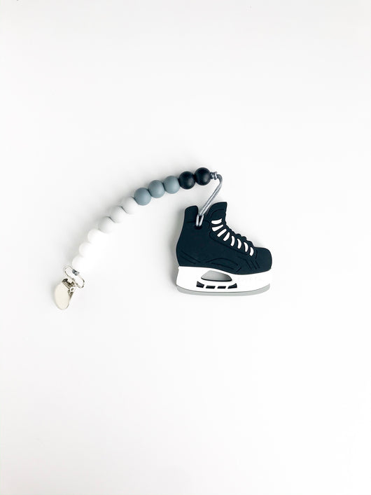 Hockey Skate Teether - Libby Baby Boutique