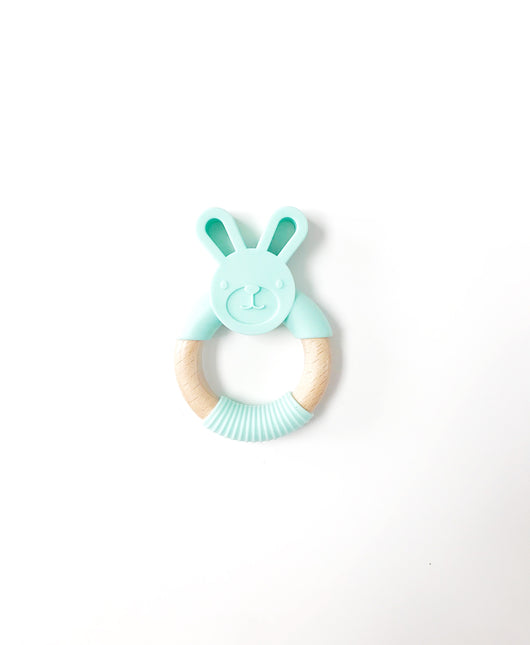 Bunny Teething Ring - Libby Baby Boutique