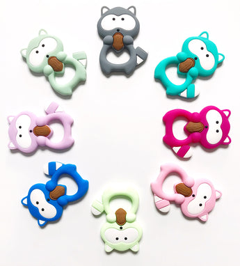 Raccoon Teether - Libby Baby Boutique