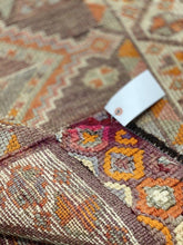 "Load image into Gallery viewer, 2'10"" x 14'10"" Vintage Turkish Oushak Runner - Online Oriental Rugs"