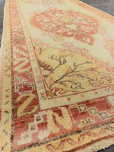 "Load image into Gallery viewer, 3'5"" x 13'5"" Vintage Turkish Oushak Runner - Online Oriental Rugs"