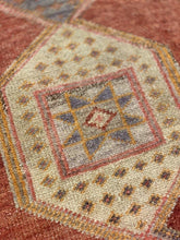 "Load image into Gallery viewer, 2'9""x16'4"" Vintage 1940's Hand Weaved Oushak Runner from Turkey 🇹🇷 - Online Oriental Rugs"