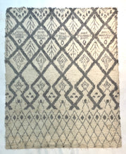 "Load image into Gallery viewer, 8' x 10'4"" Hand Weaved Long Hair New Zealand 🇳🇿 Wool Moroccan Rug"