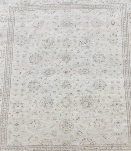 "11'9"" x 14'6"" Hand Made 100% Wool Peshawar Super Size Me Large Area Rug"
