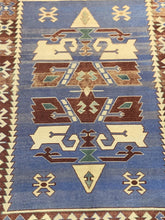 "Load image into Gallery viewer, 4' x 5'3"" Vintage Turkish Oushak - Online Oriental Rugs"