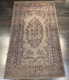 "3'7"" x 6'6"" Vintage Turkish Oushak"