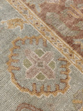 "5'6"" x 7'6"" New Oushak Soft Pastel Colorful Area Rug"