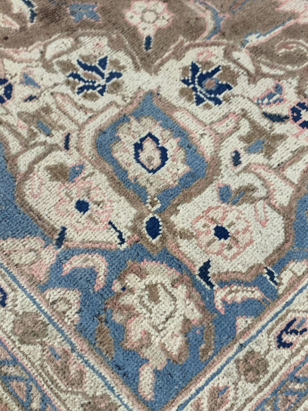 "11'5"" x 16' Hand Woven Vintage Persian Mahal Large Area Rug - Online Oriental Rugs"