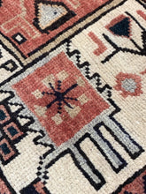 "Load image into Gallery viewer, 3' x 10'5"" Vintage Persian Karajeh Runner - Online Oriental Rugs"