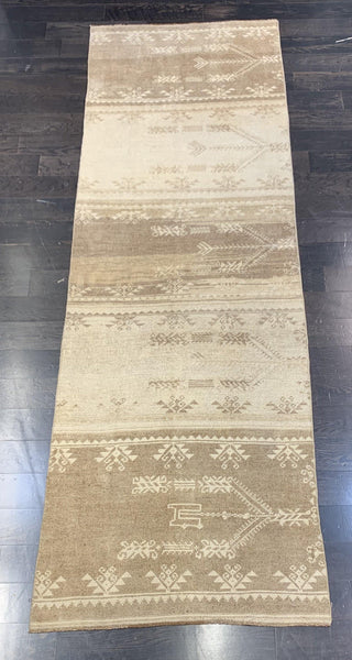 "3'1"" x 9'4"" Turkish Oushak Runner"